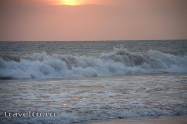 Советы туристам Риповые течения на Шри-Ланке