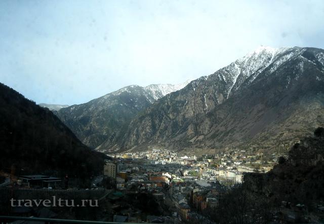 Столица Андорры Andorra la Vella