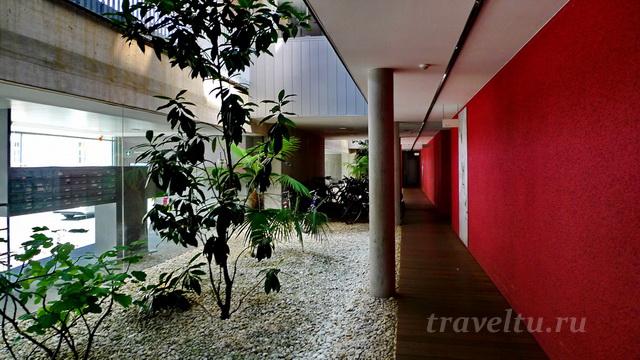 Лестничная площадка или коридор...