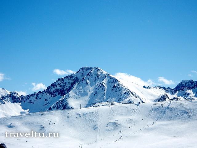 Вид на Пиренеи