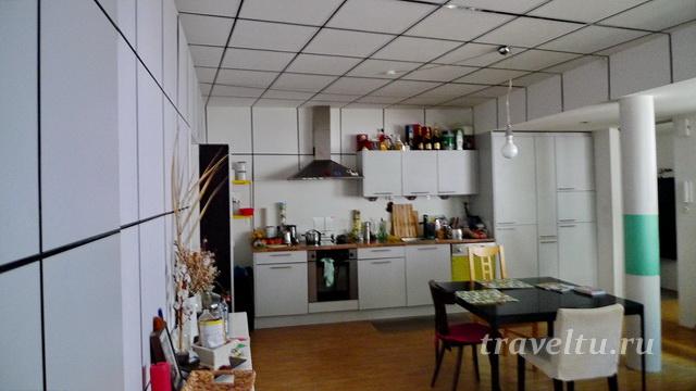 Кухня, гостиная, зона отдыха