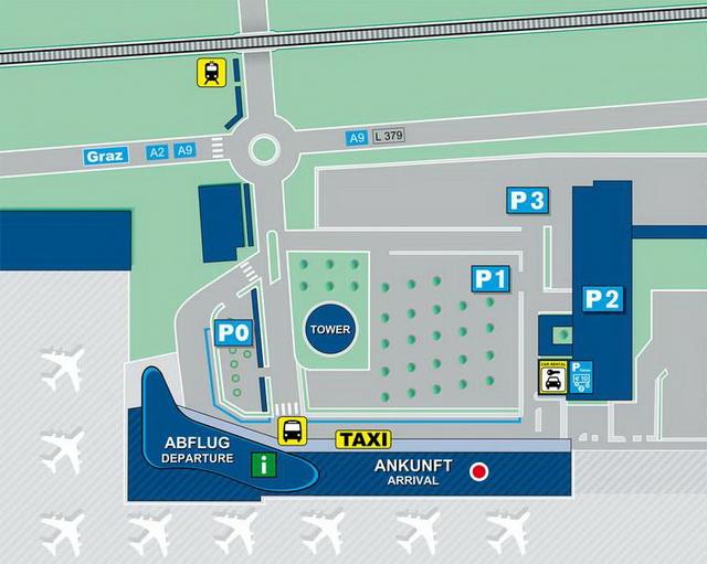 Как добраться из аэропорта до Граца