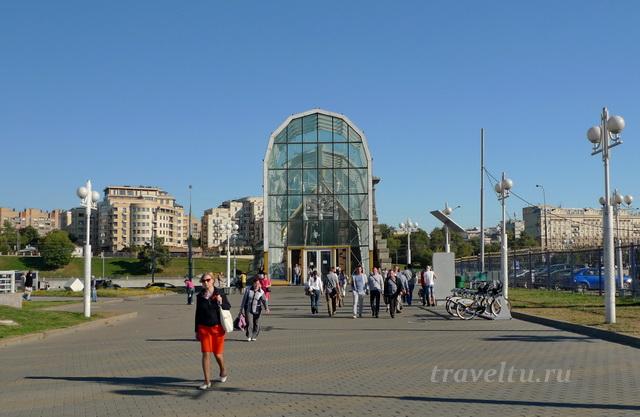 Киевский вокзал переход