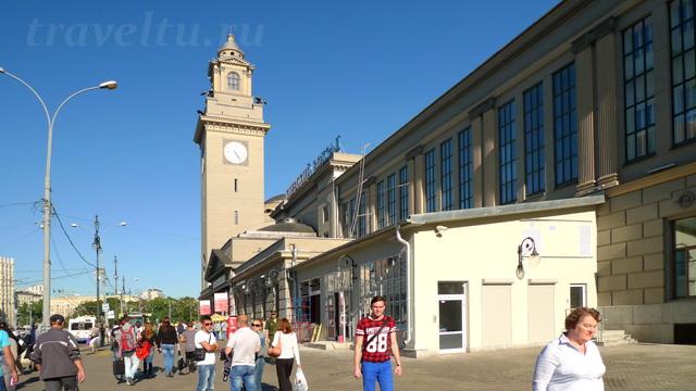 Киевский вокзал выход