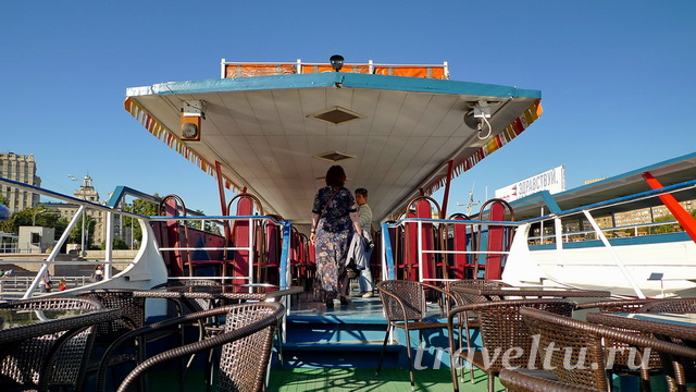Корабль верхняя палуба