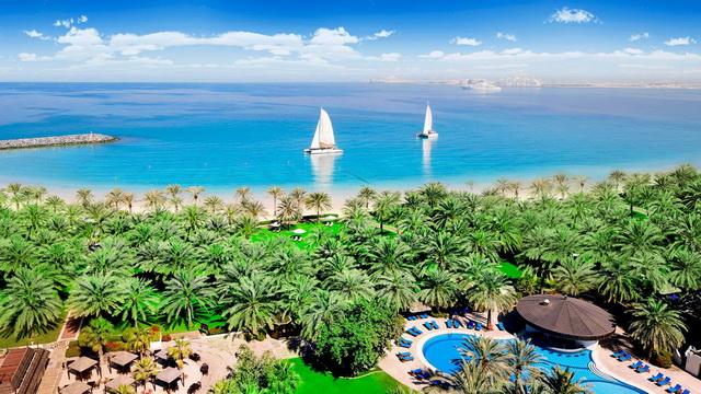 пляжи на Абу-Даби