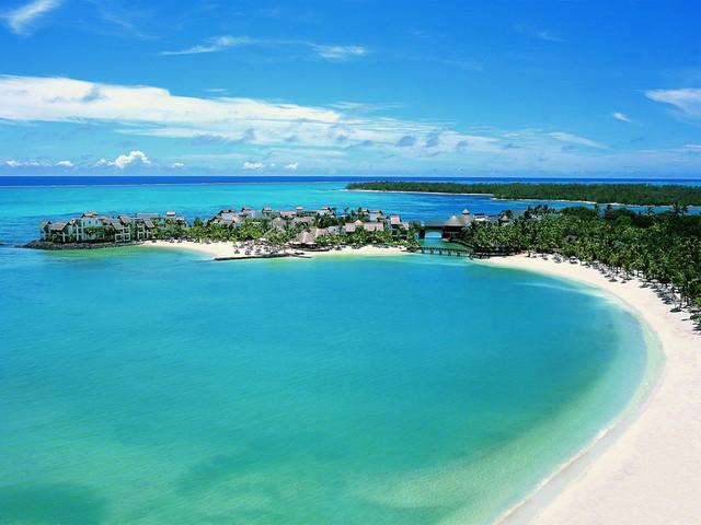 пляж Маврикия