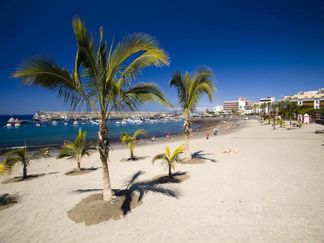 пляж на Тенерифе
