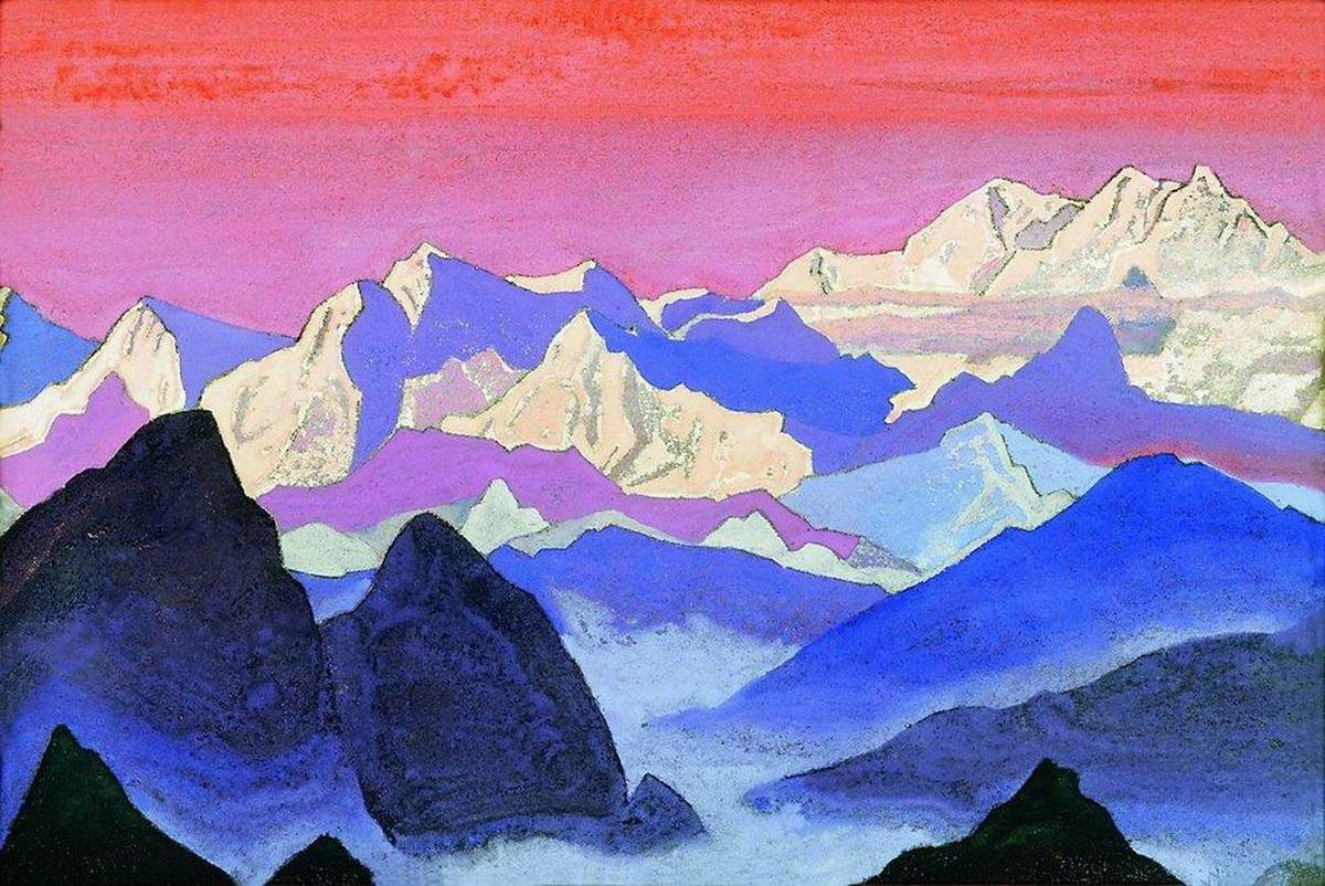 Канченджанга. Гималаи. Н. Рерих