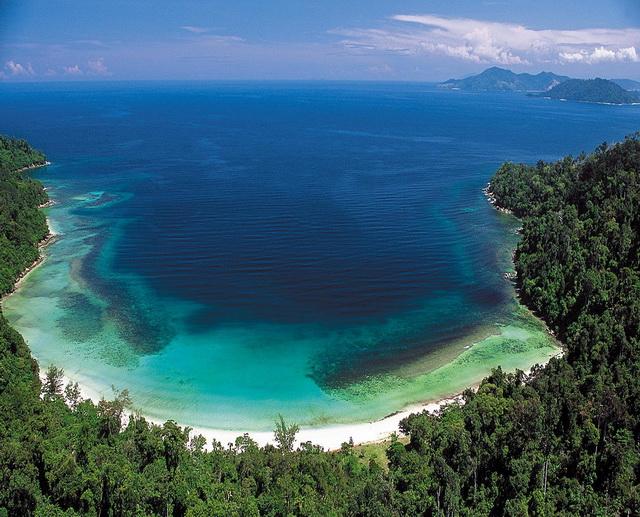 Пляж острова Гайя