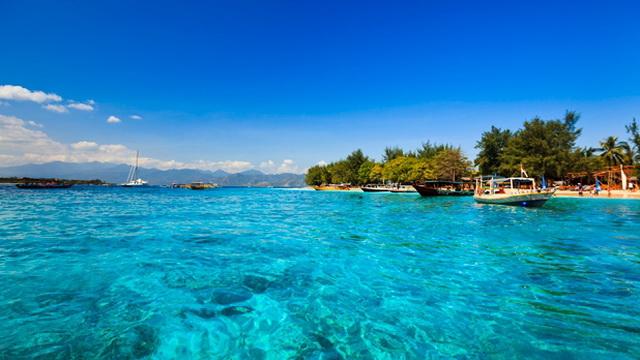Пляж острова Гили