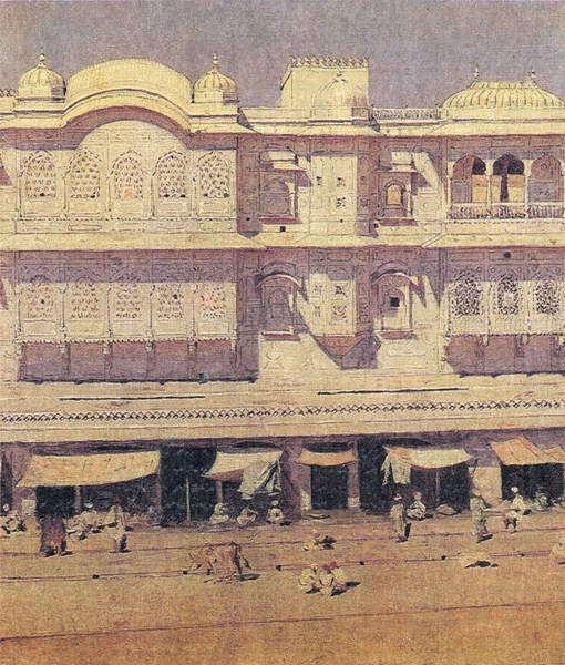 Дом Бирбаля в Фатахпур-Сикри. 1874–1876 гг.