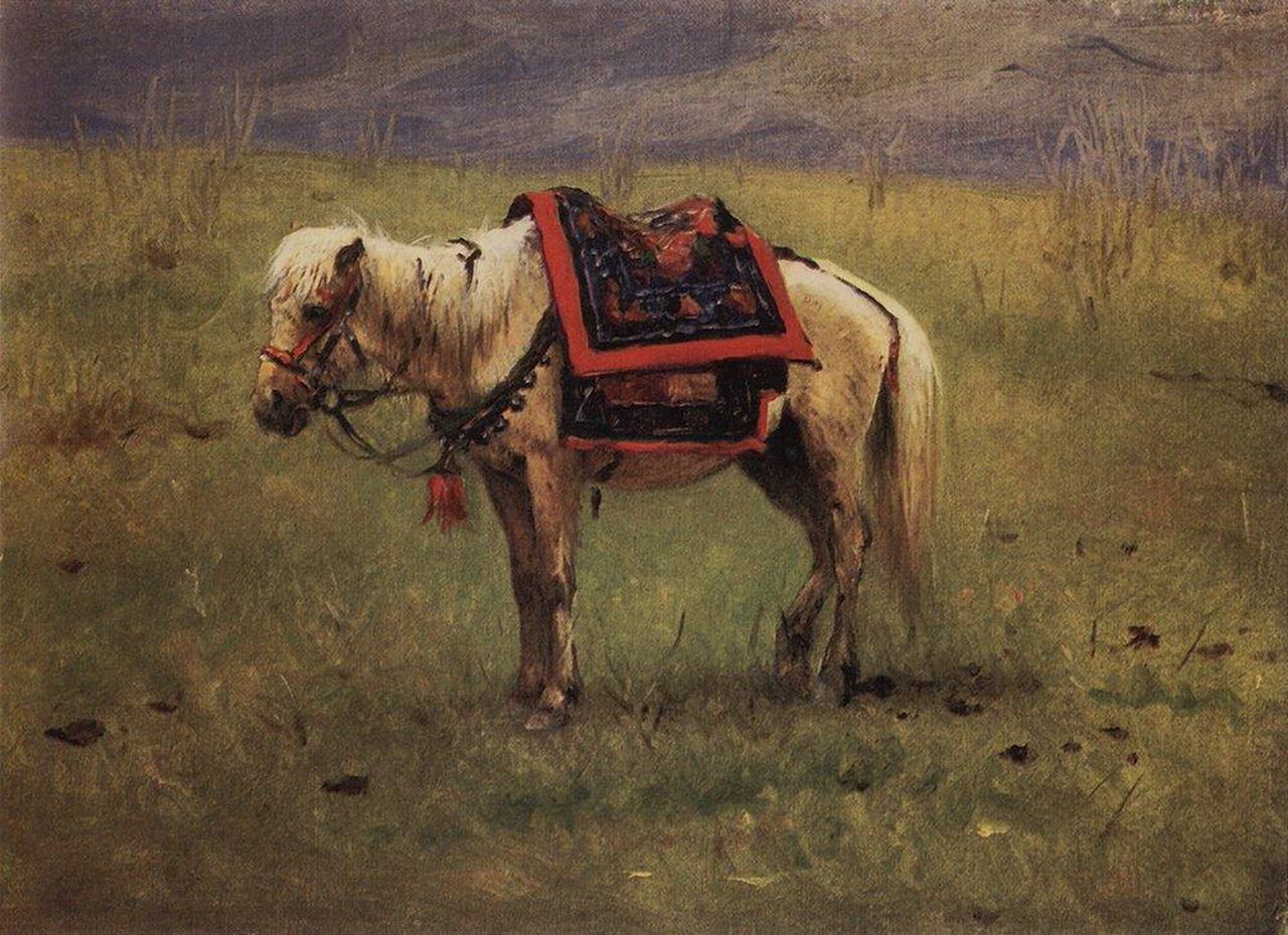 Гималайский пони, 1874 г