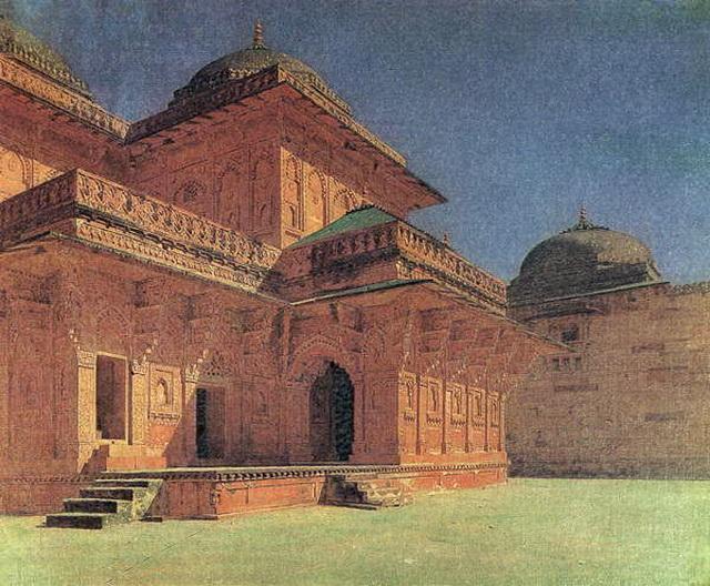 Храм в Джайпуре. 1874–1876 гг.