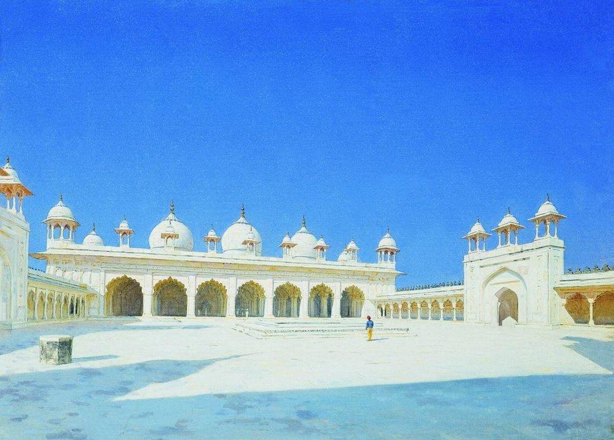 Моти Масджид - Жемчужная мечеть