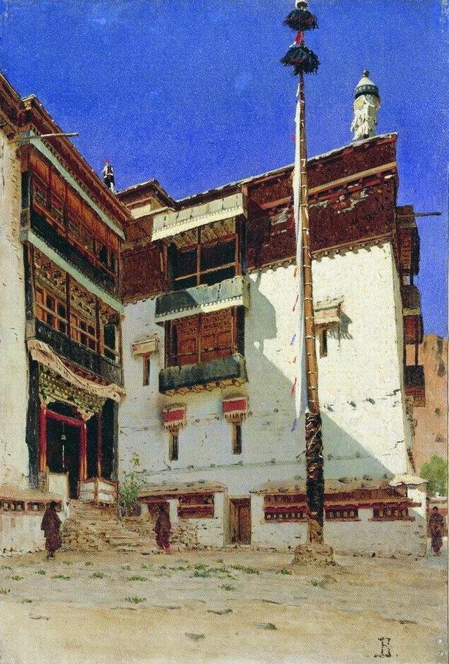 Сикким. Индийские мотивы, 1870-е годы
