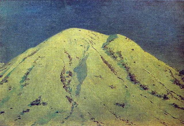 В Гималаях. Гора Джонгри зимой. 1874–1876 гг.
