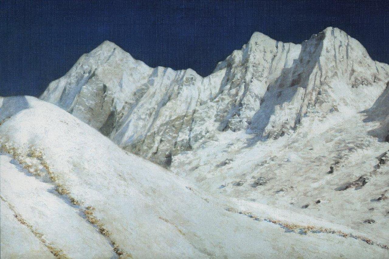 В Индии. Снега Гималаев. 1874-1876 гг