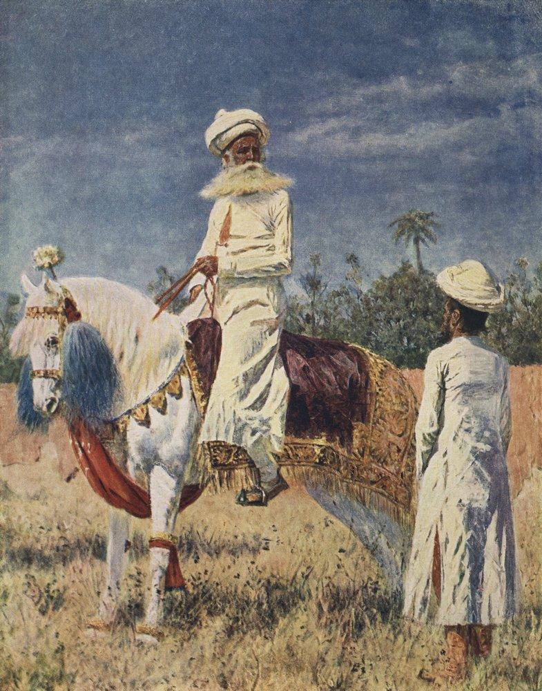 Всадник в Джайпуре. Около 1880