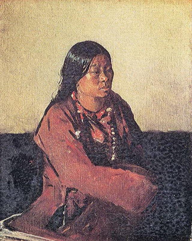Женщина из Бутана 1874–1876 гг