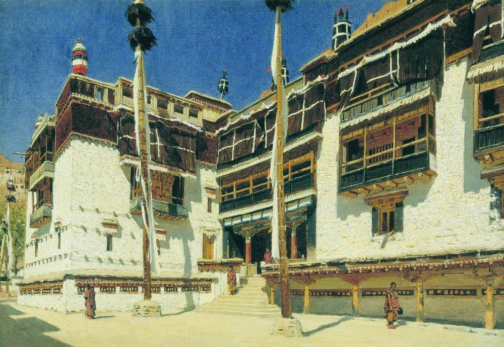 Северная Индия. Монастырь Хемис в Ладакхе