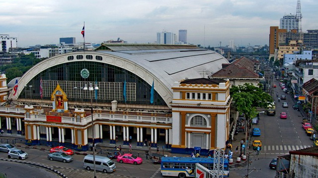 Жд вокзал Бангкока Hua Lamphong