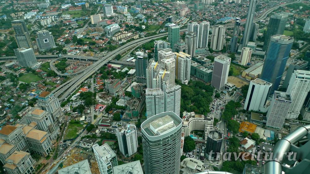 Куала-Лумпур. Вид сверху