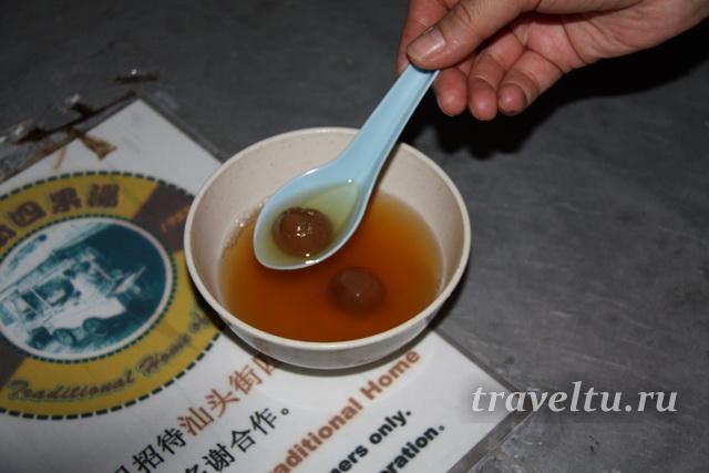 Сладкий суп лонган