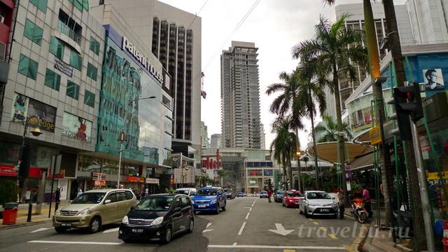 Куала-Лумпур улица