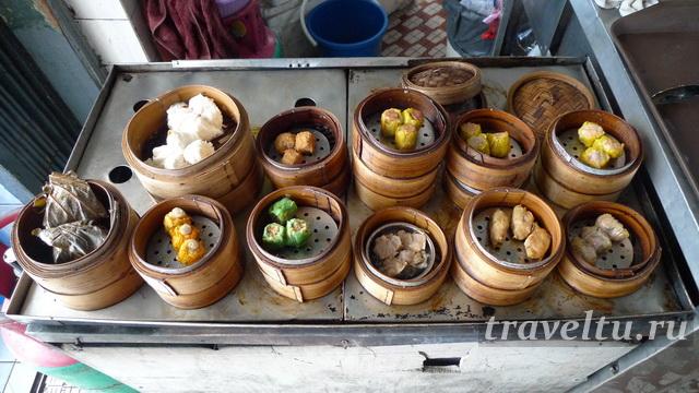 Малайское блюдо - котлетки-пельмени dim sum