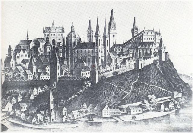 Крепость Вышеград в средние века