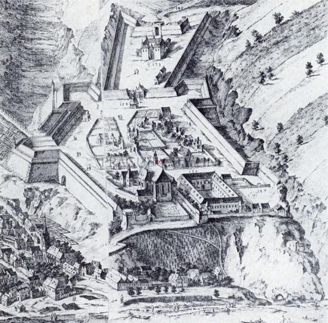 Крепость вышеград внутри