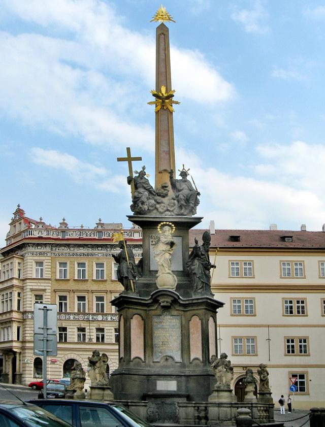 Чумной столб или Марианская колонна