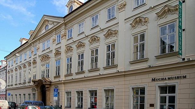 Музей Альфонса Мухи. Кауницкий дворец (правое крыло)