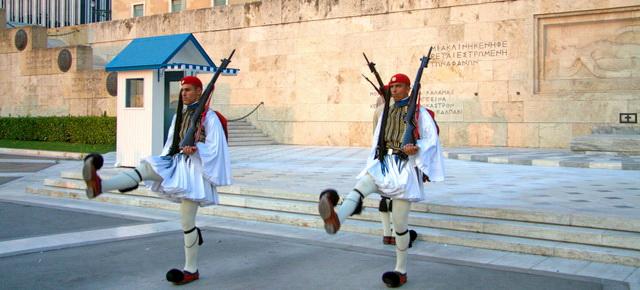 Почетный караул в Афинах