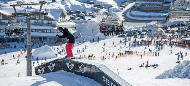 Трассы для сноубордистов