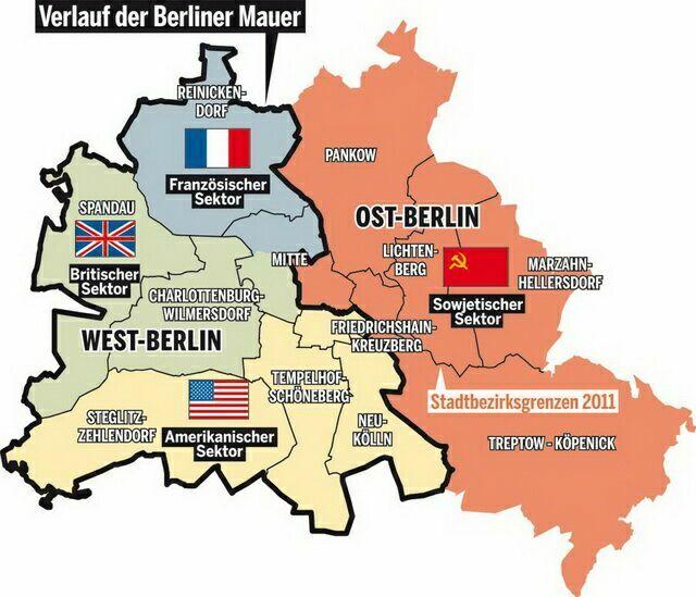 Граница Берлинской стены