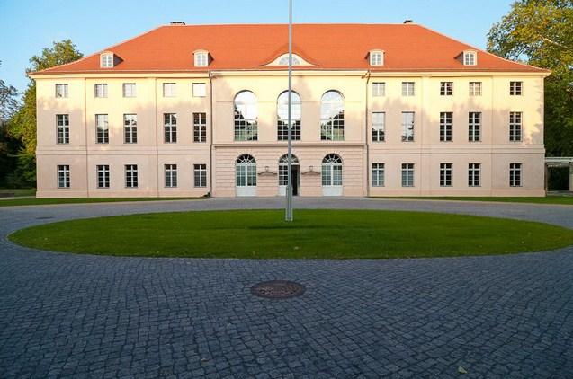 Дворец Шёнхаузен. Вид сзади