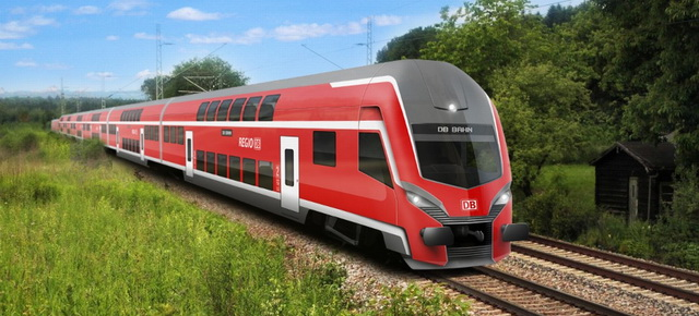 На поездах Германии за 15 евро