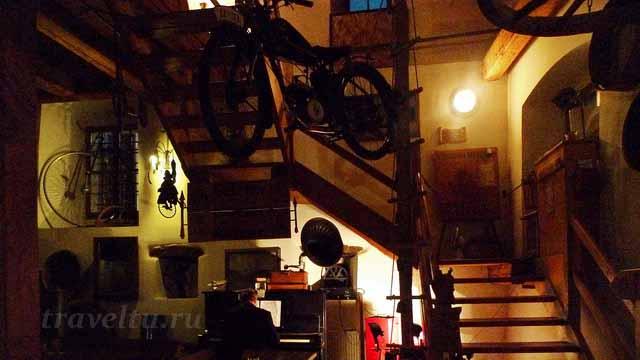 Ночное кафе в Крумлове