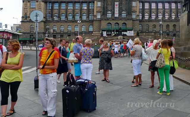 На экскурсию с чемоданами