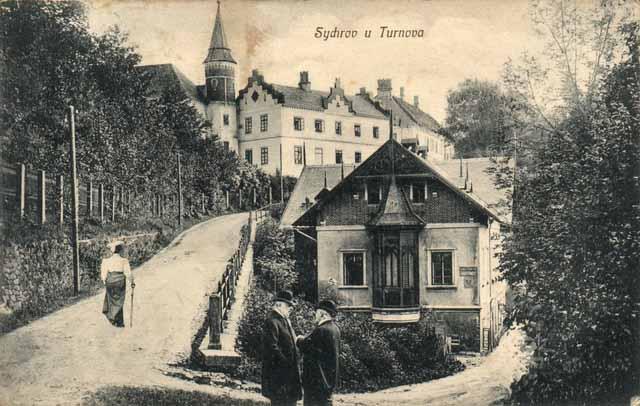 Сихров на старой открытке