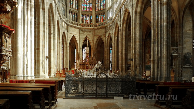 Собор св.Вита внутри