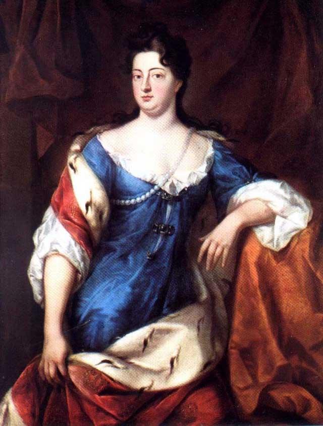 Софи Шарлотта фон Ганновер 1702 год