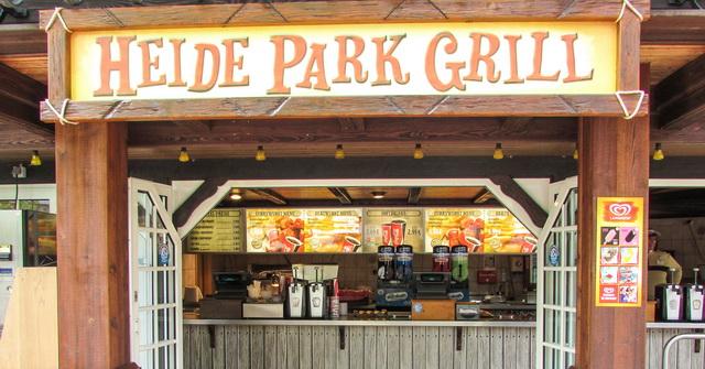 Закусочная в хайде парк