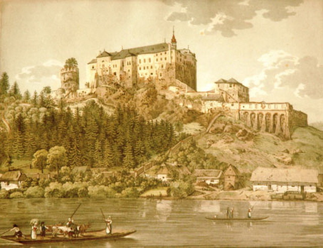 Замок Чески Штернберк 18 века