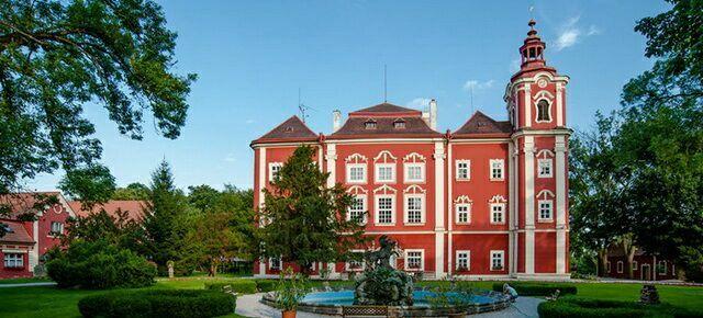 Замок Детенице в Чехии