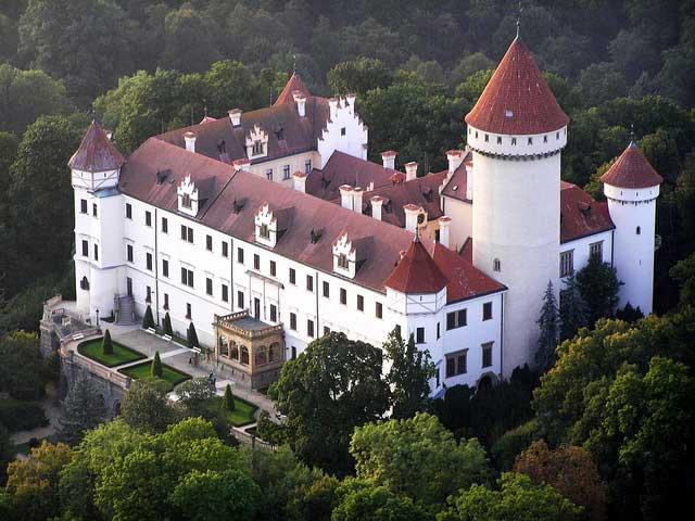 Так выглядит замок Конопиште сегодня