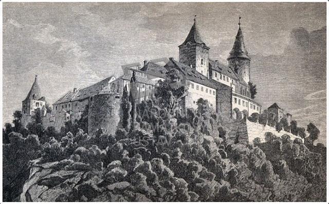 Замок Кршивоклат старинный