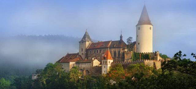 Замок Кршивоклат в Чехии